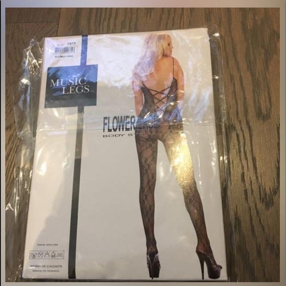 Music leg bodysuit